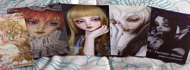 12 postcards